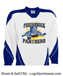 Pequannock Adult Size Jersey Design Zoom
